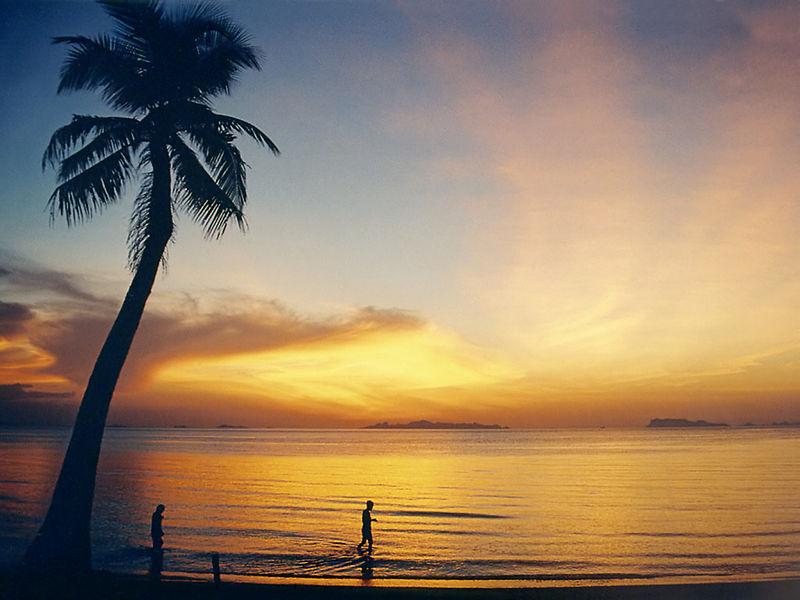 Anti-aging dla niezaawansowanych zachód słońca plaża