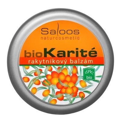 Obrazek SALOOS Bio karité balsam rokitnikowy
