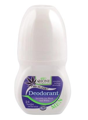 Obrazek BIONE COSMETICS Dezodorant dla mężczyzn bez aluminium roll-on