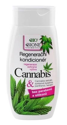 Obrazek BIONE COSMETICS Regenerująca odżywka do włosów Cannabis