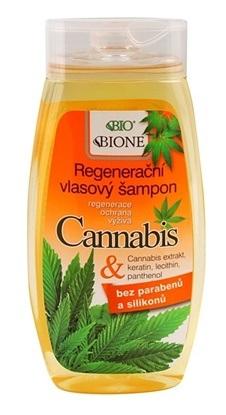 Obrazek BIONE COSMETICS Regenerująco-odżywczy szampon do włosów Cannabis