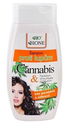 Obrazek BIONE COSMETICS Szampon przeciwłupieżowy Cannabis