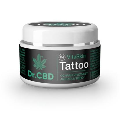 Obrazek Dr CBD VitaSkin Tattoo Krem konopny