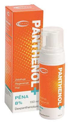 Łagodząca i regenerująca pianka po opalaniu z 8% D-Panthenolem