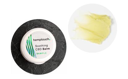 Obrazek Hemptouch Łagodzący balsam konopny CBD – tester