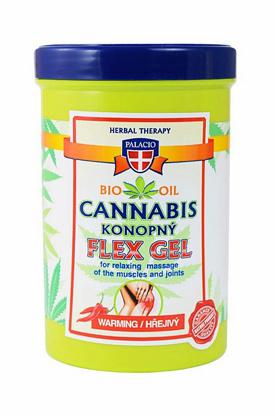 Zdjęcie Żelu rozgrzewającego Cannabis Flex 380 ml marki Palacio