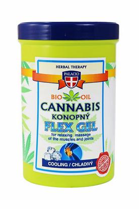 Zdjęcie Żelu chłodzącego Cannabis Flex 380 ml marki Palacio