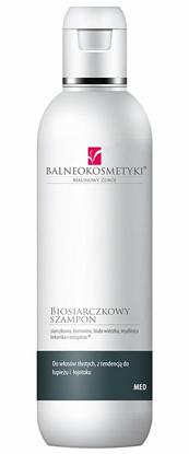 Zdjęcie Biosiarczkowy szampon przeciwłojotokowy i przeciwłupieżowy do włosów tłustych 200 ml marki Balneokosmetyki