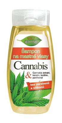 Zdjęcie Szamponu do włosów tłustych Cannabis 260 ml marki  BIONE COSMETICS